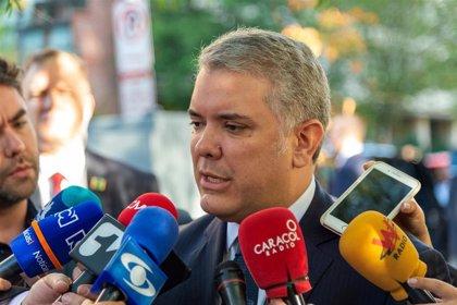 """Colombia.- Iván Duque rechaza a los """"pirómanos"""" que azuzan las protestas en Colombia"""