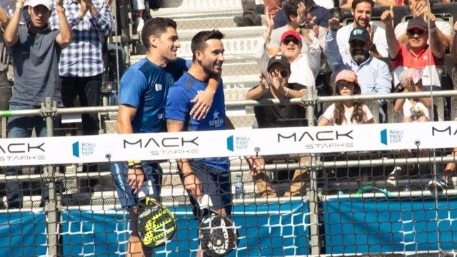 Sanyo y Maxi ganan el duelo de los mejores en la primera final en México
