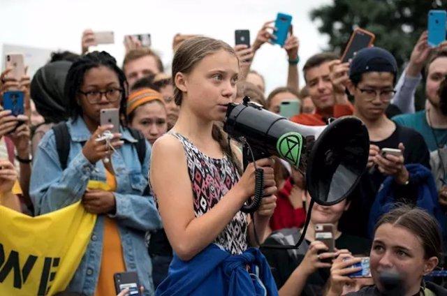 COP25.- Greta Thunberg prevé llegar mañana a la Península