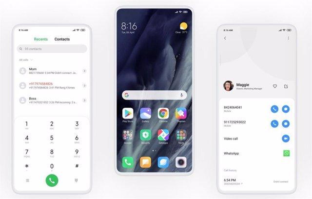 MIUI 11 de Xiaomi introducirá en la cámara el escáner de documentos de identidad