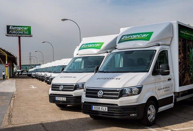 Furgonetas de Europcar