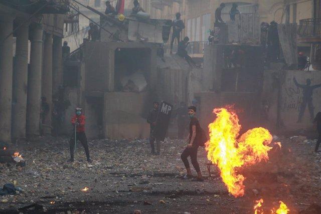 Irak.- HRW denuncia desapariciones en el marco de las protestas en Bagdad