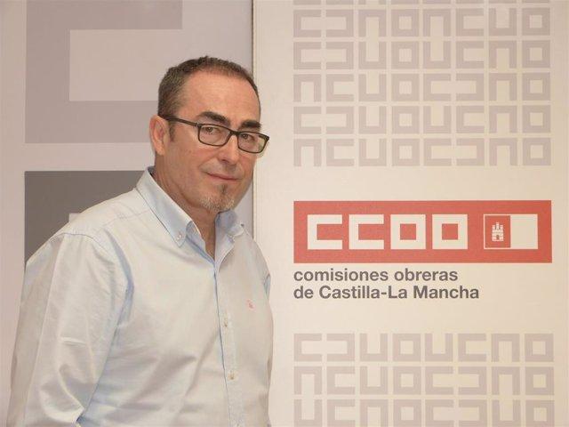 El secretario general de CCOO CLM, Paco de la Rosa.