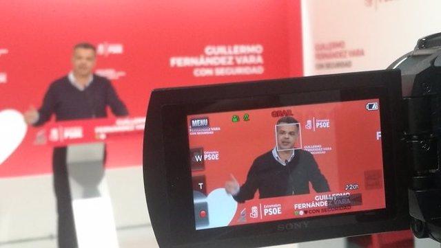El portavoz del PSOE extremeño, Juan Antonio González