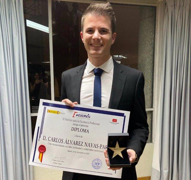 COMUNICACIÓN: Joven empresario de Granada recibe la Estrella de Oro a la Excelen