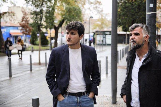 El portavoz de Más Madrid, Pablo Gómez Perpinyà,