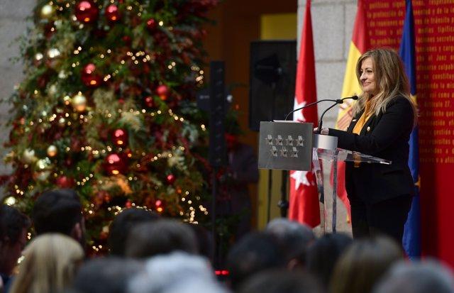 La delegada del Gobierno en Madrid, María Páz García Vega.