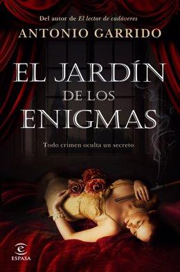 Portada de la obra de Antonio Garrido 'El jardín de los enigmas'