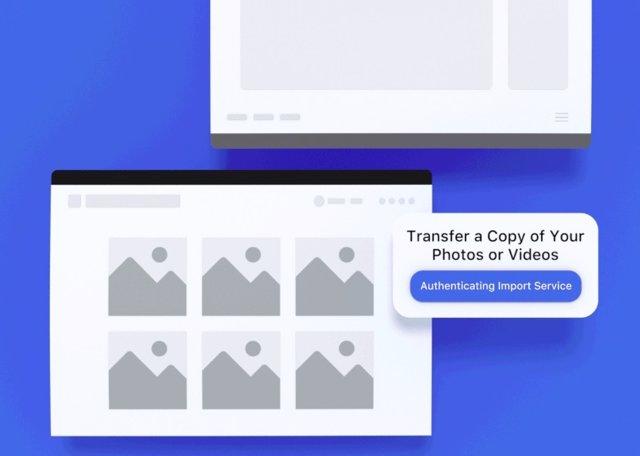 Facebook crea una función para transferir todas las imágenes y vídeos a Google F