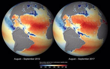 Mapas de salinidad precisos muestran cómo varía el clima en los mares