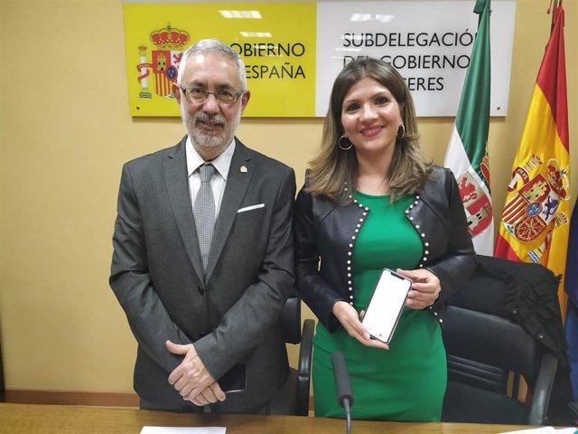 José Antonio García y Maria Alexandra Díaz