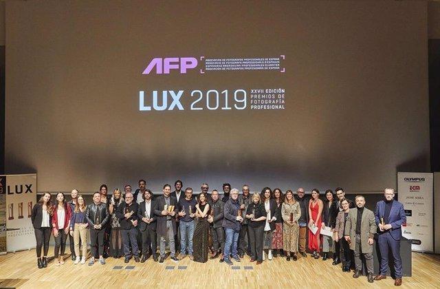 Ganadores y patrocinadores de los Premios de Fotografía Profesional