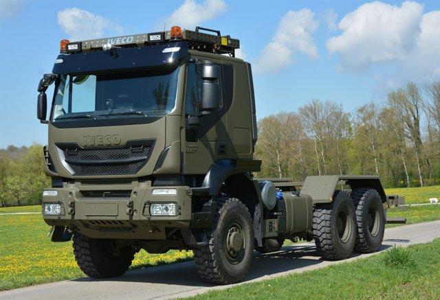Camión de Iveco Defence