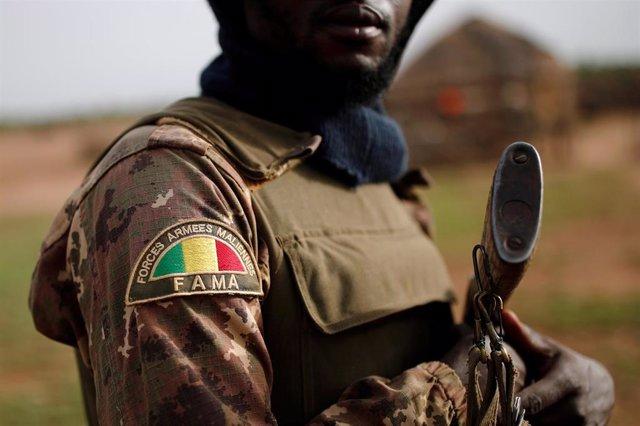 Un soldado del Ejército de Malí