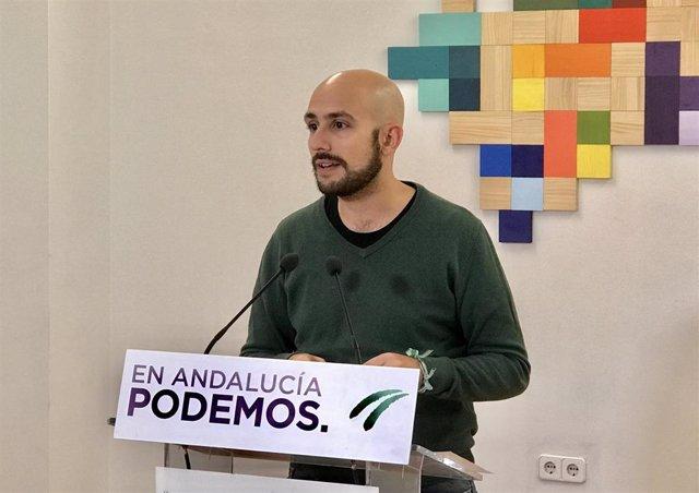 Pablo Pérez Ganfornina, en rueda de prensa