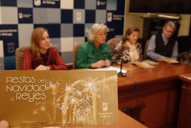 Presentación de los espectáculos navideños en Málaga capital