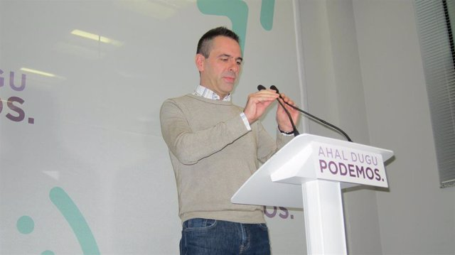 Andeka Larrea (Podemos Euskadi)