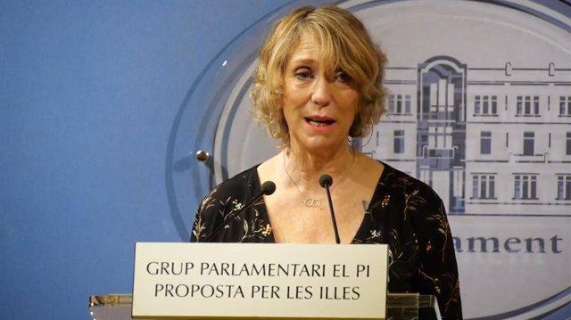 La diputada del PI, Catalina Pons.