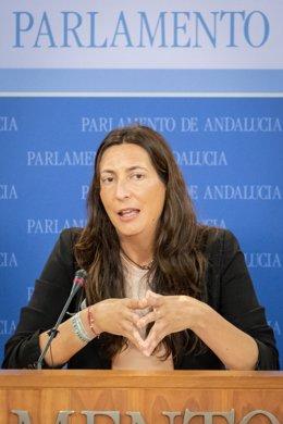 La scretaria general del PP-A, Loles López, en una imagen de archivo.