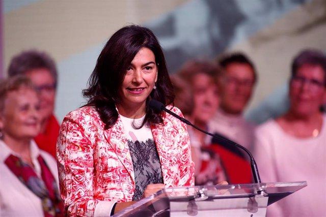 María José Rienda, presidente del CSD