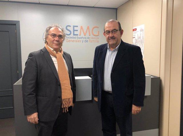 Presidentes SEFIFAC Y SEMG