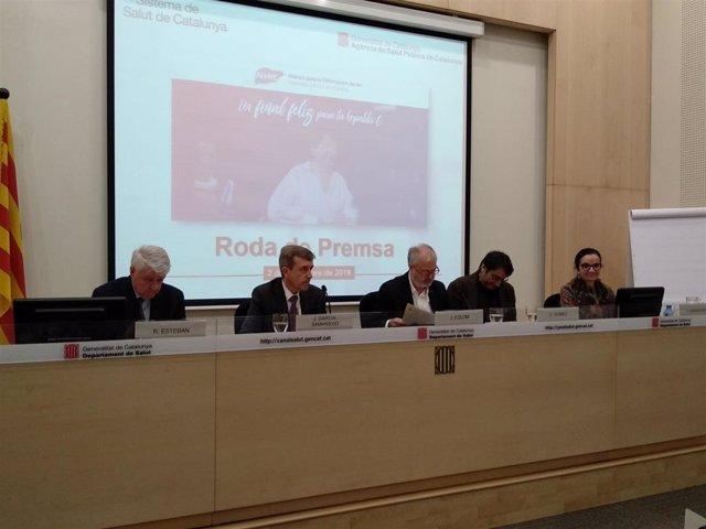R.Esteban, J.García-Samaniego, J.Colom, C.Gómez y T.Casanovas