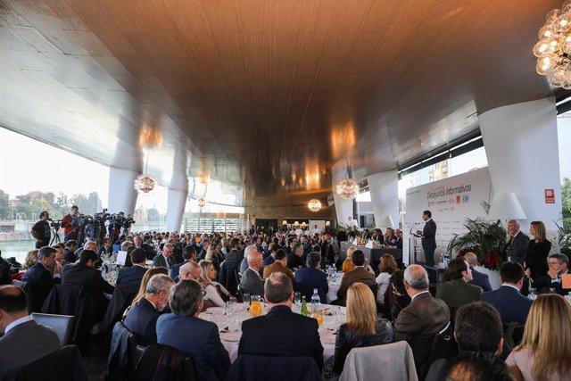 Europa Press Andalucía reúne a más de 300 personas en la celebración del V anive