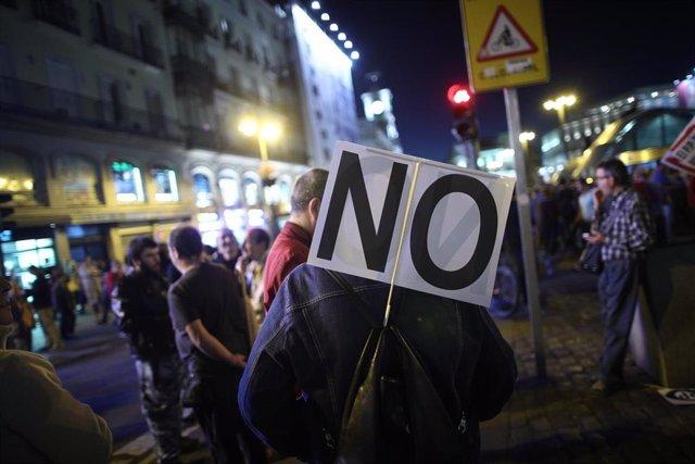 Manifestación Rodea el Congreso en Madrid