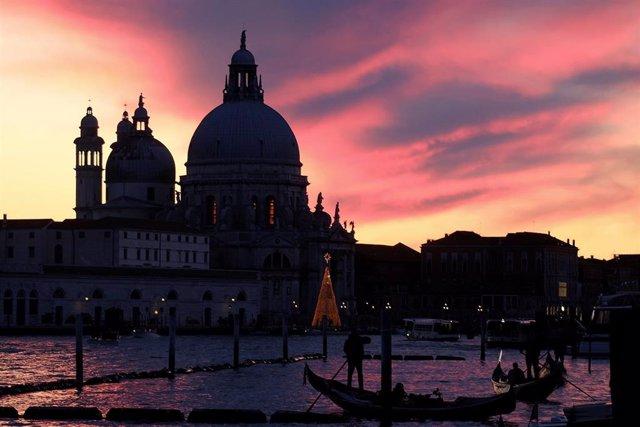 Basílica de Santa María de la Salud en Venecia