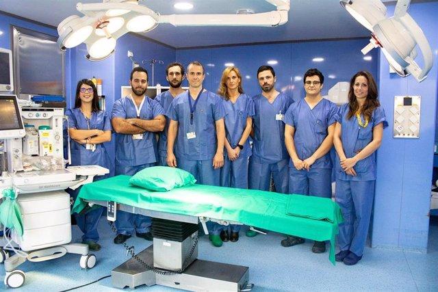 [L Mmcc.Huvmr.Sspa] Primera Cirugía De Sustitución Protésica De Hombro Asistida Por Navegación De Andalucía