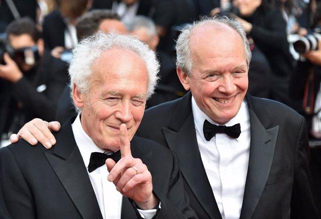 Los hermanos Dardenne, directores de 'El joven Ahmed', durante el pasado Festival de Cannes