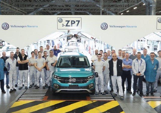Volkswagen Navarra alcanza los 300.000 coches fabricados en 2019