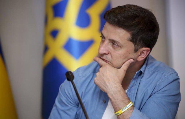 Ucrania.- El presidente de Ucrania niega que hubiera un intercambio de favores c