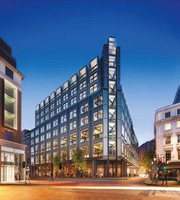 Edificio 'The Post Building' en Londres adquirido por el fundador de Inditex Amancio Ortega.
