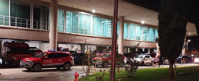 Dispositivo de Policía Foral y Policía Nacional para una operación conjunta en Tudela