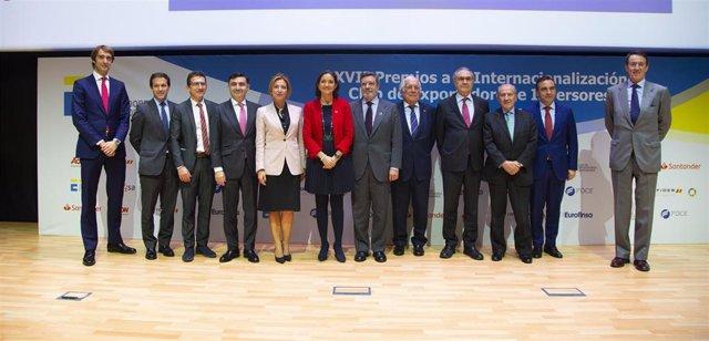 XVII Premios a la Internacionalización