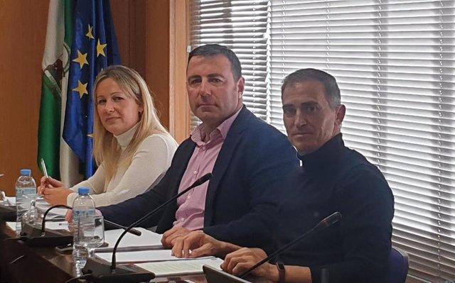 Concejales de Cs en el Ayuntamiento de Roquetas