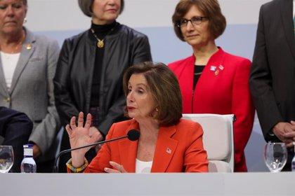 COP25.- Pelosi rehúsa hablar del 'impeachment' a Trump durante la cumbre del clima