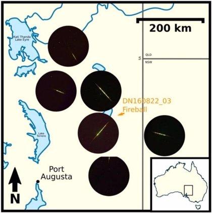 Lluvia de meteoros identificada con origen en una miniluna