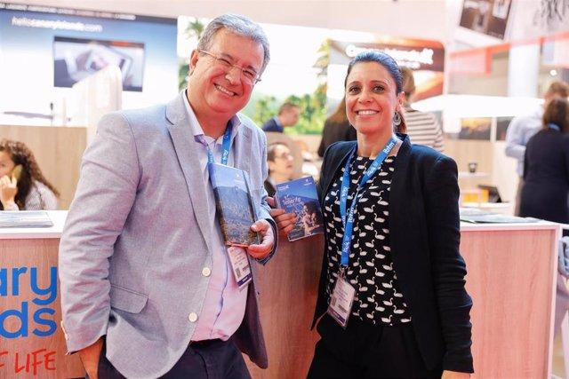 Delegación de Turismo de Tenerife en la feria IBTM