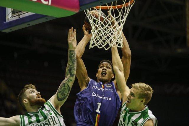Tyson Pérez con el MoraBanc Andorra