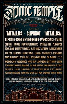 Cartel del festival en 2020
