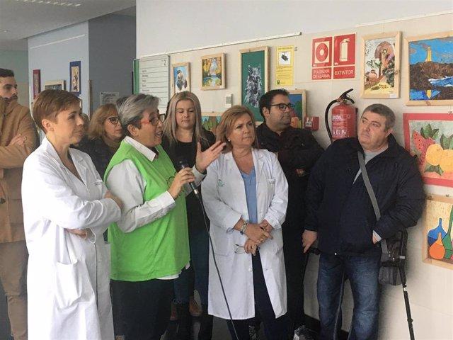 Exposición de Afemvap en el Hospital Valle de Los Pedroches