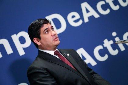 C.Rica.- Presidente de Costa Rica pide atención internacional para Nicaragua y apoyo para los países vecinos