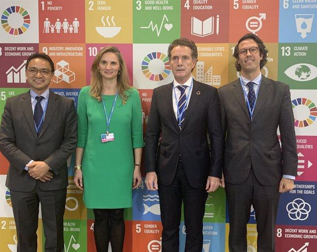 COP25.- Canal apuesta por desarrollar los ODS hídricos y reparte 20.000 botellas
