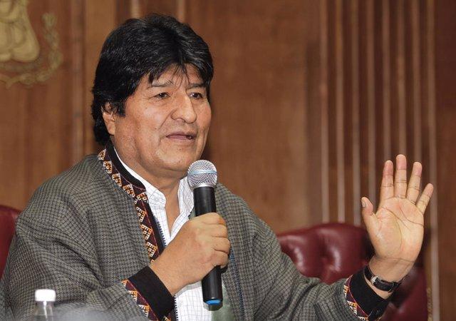 L'expresident bolivi Evo Morales