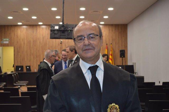 El president del Tribunal Superior de Justicia de Catalunya (TSJC), Jesús María Barrientos.