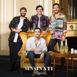 Campanya de Freixenet amb la banda Sinsinati