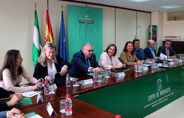 Almería.- Carmen Crespo aboga por modificar los contingentes de países terceros