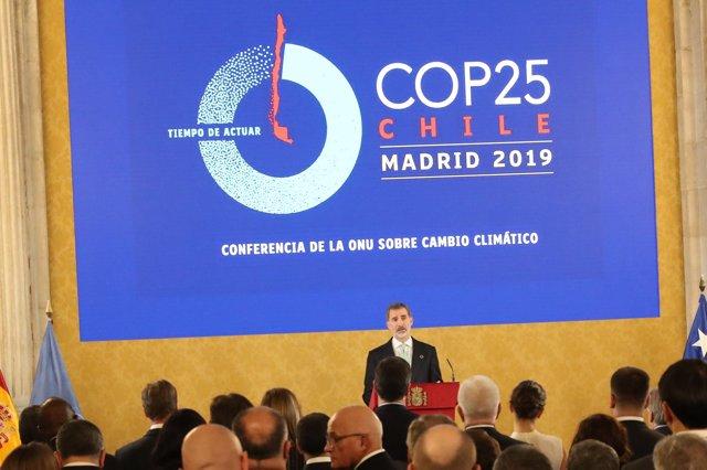 El Rey Felipe VI en la Conferencia de la ONU sobre Cambio Climático